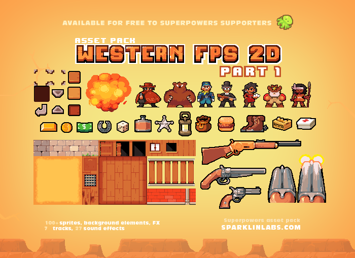 Western Fps 2D – 1