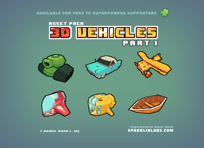 3D Vehicles – 1