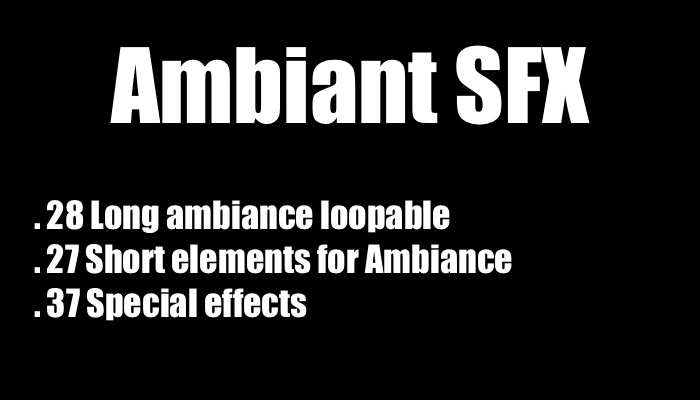 Ambiant SFX Pack