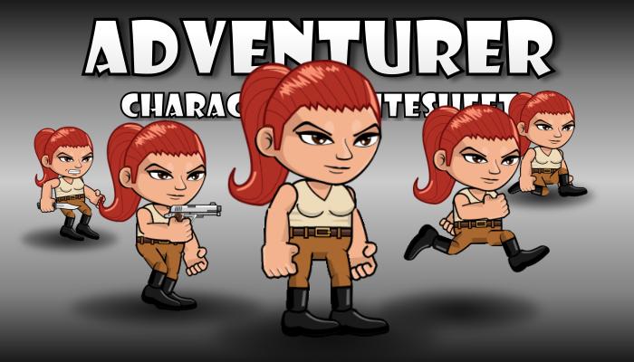 Adventurer 16 Redhead Girl