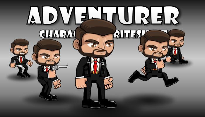 Adventurer Character 15