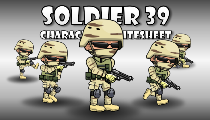 Soldier Character 39