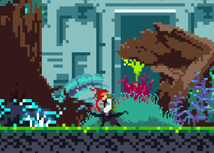 Pixel Art Archer Sprite