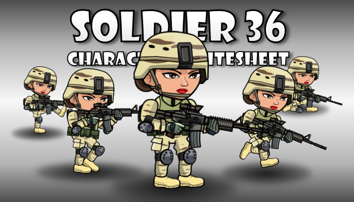 Soldier Character 36