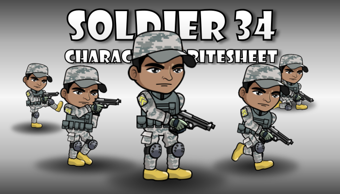 Soldier Character 34