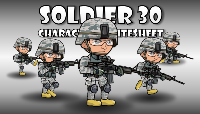 Soldier Character 30