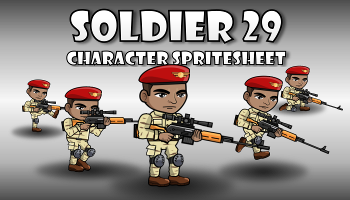 Soldier Character 29