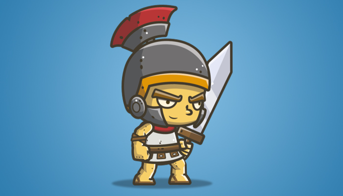 Chibi Knight 02 – The Roman Knight