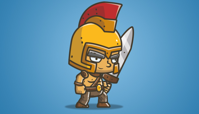 Chibi Knight 03 – The Golden Helmet