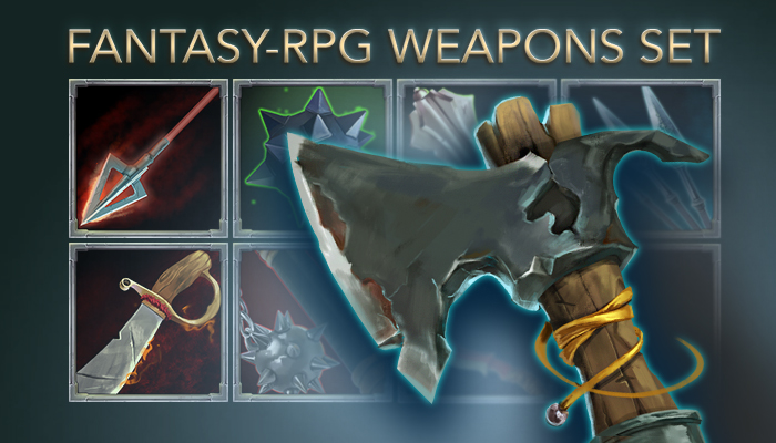 Weapons Icons Pack