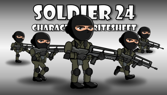 Soldier Character 24