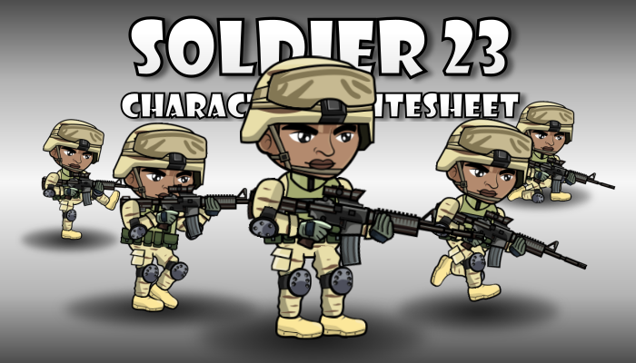 Soldier Character 23