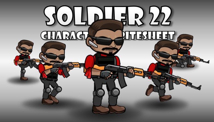 Soldier Character 22