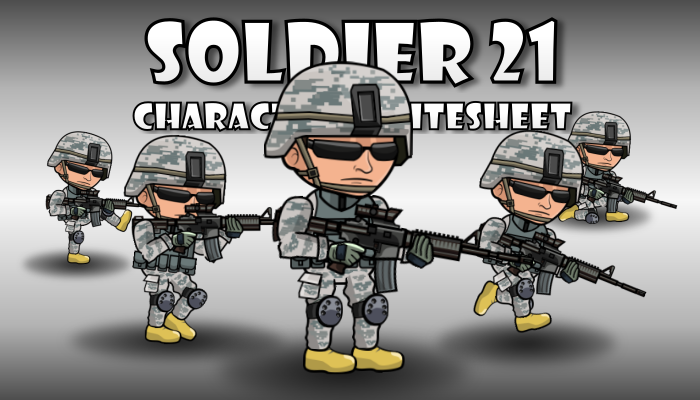 Soldier Character 21