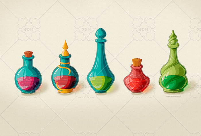 Magic potions collection