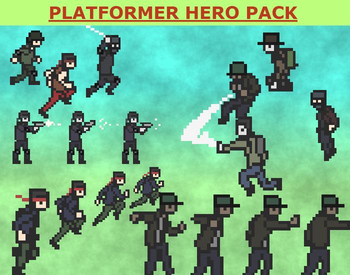 Platformer Hero Pack