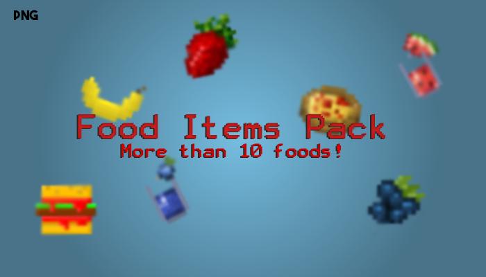 Food Assets Pack