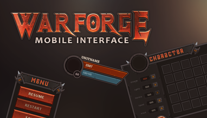 Warforged Mobile UI