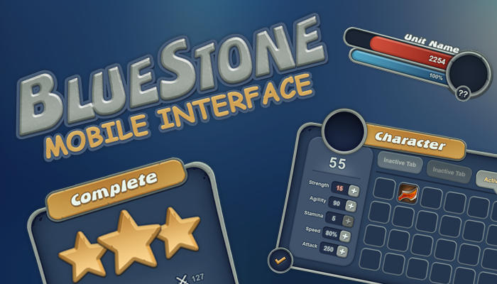 BlueStone Mobile UI