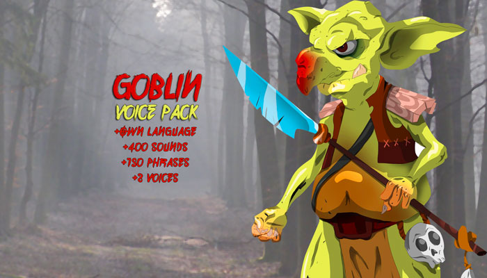 Goblin – Voice Pack