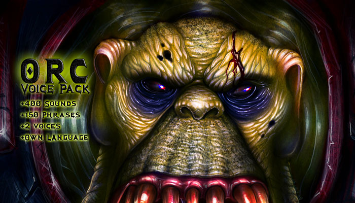 ORC – Voice Pack