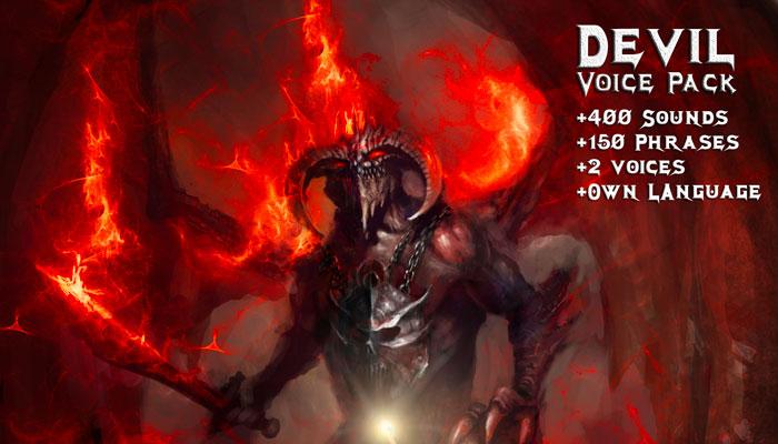 Devil – Voice pack