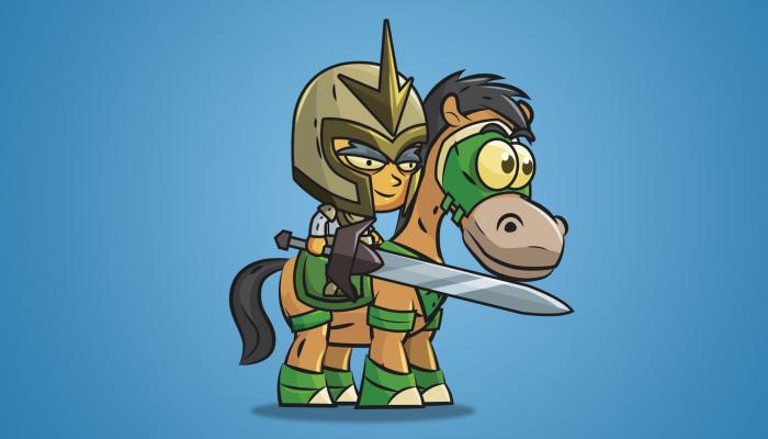 Knight on Horseback 04