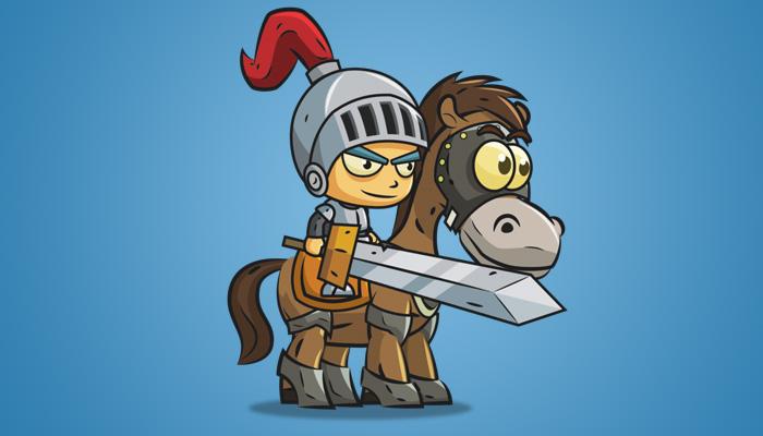 Knight on Horseback 01