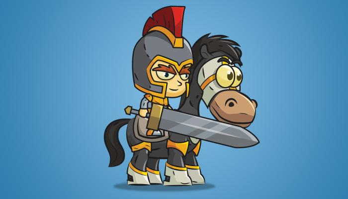 Knight on Horseback 02