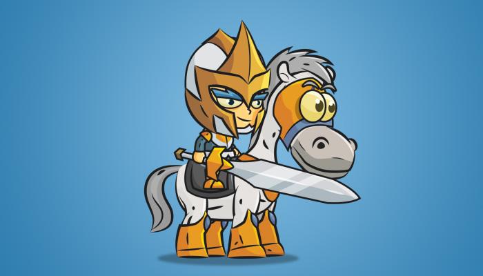 Knight on Horseback 03