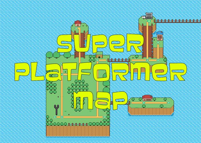 Super Platformer Map