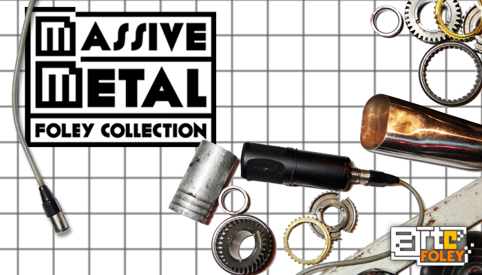 Massive Metal: Foley Collection