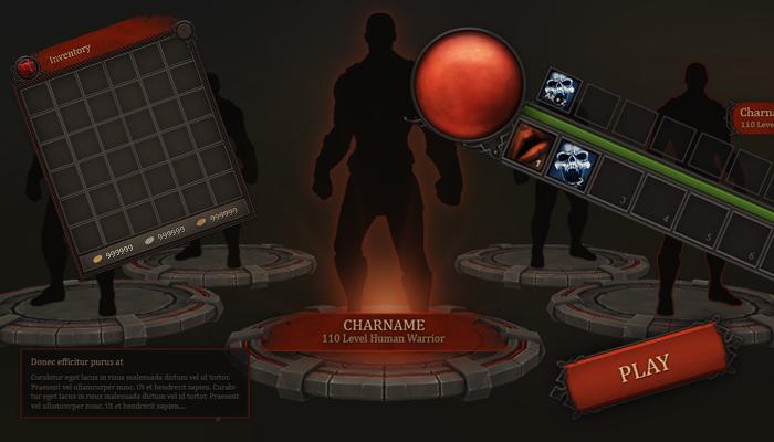 Fantasy UI Bloodline