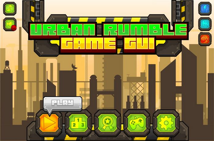 Urban Rumble – Game GUI