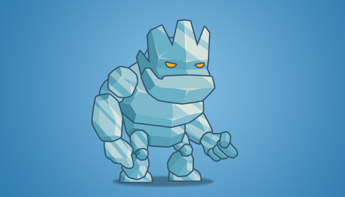 Tiny Ice Monster