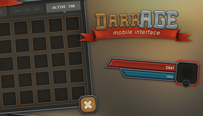DarkAge Mobile UI