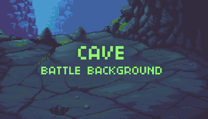 Cave Battle Background