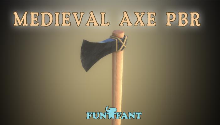 Medieval Axe PBR