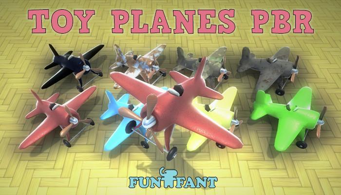 Toy Planes PBR