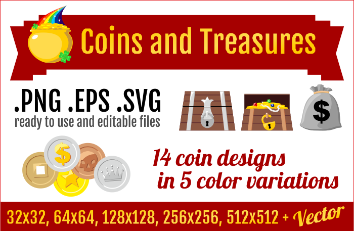 Coins and Treasures
