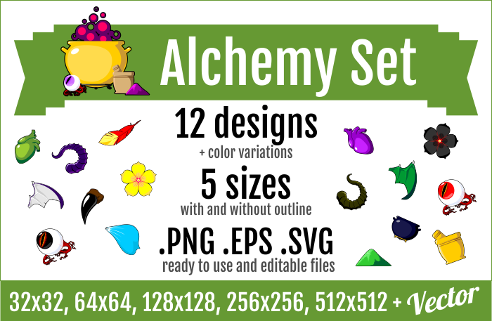 Alchemy Set