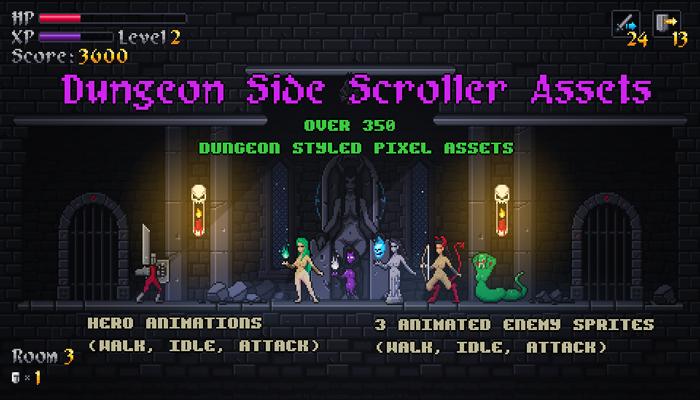 Dungeon Sidescroller