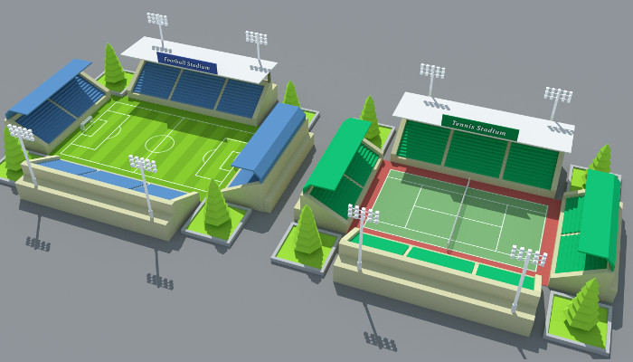 SimplePoly Stadium Kit