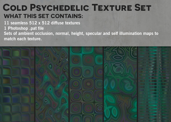Cold Psychedelic Textures