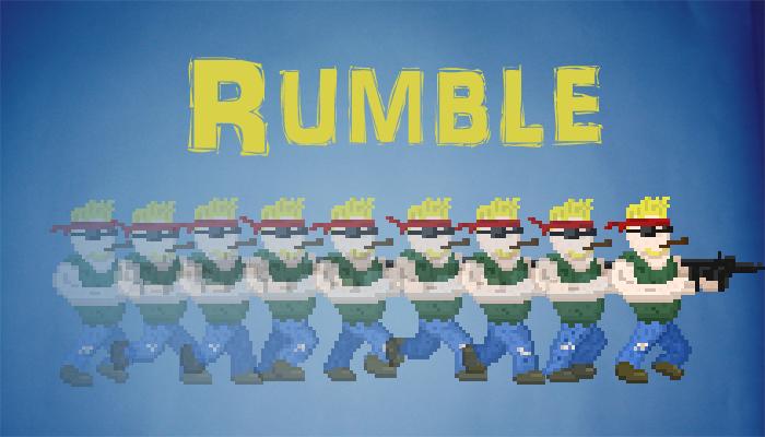 Pixel Character Rumble