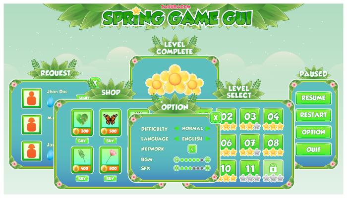 Spring Game GUI
