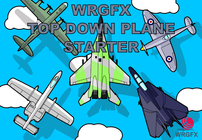 Top Down Plane Starter Pack