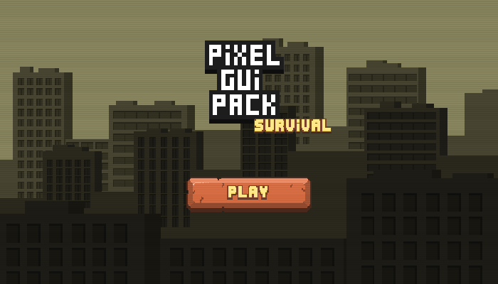 Pixel GUI Pack: Survival