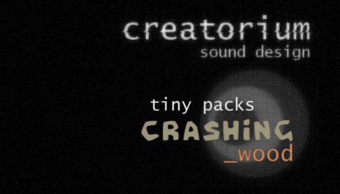 Creatorium tiny packs – Crashing wood