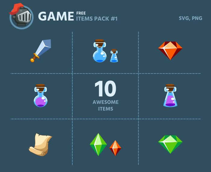 Free Game Items Pack 1